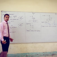 I am electronics engineer I can teach both maths and physics ( physics is my core subject)