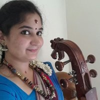Experience in carnatic, bhajans and light music teaching vocal carnatic music at school and at home