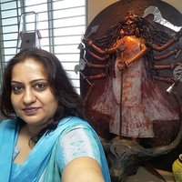 Fine Artist cum teacher since 23 years, teaches drawings,oil& acrylic paintings on canvas, boards, Fabric painting viz. Bedsheets, cushions,sarees, kurtis, Tee shirts , pots, glass, & teaches crafts t