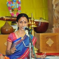 I give personal Carnatic music classes to children above 10 years and ladies
