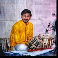 B grade from akashwani, M.A in tabla Performs at diffrent stages Now teaching tabla for every age zone, for beginners and advance both