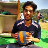 Graduate in sports, gives coaching in volleyball, football, to all age groups