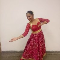 Indian dance, semi classical, folk, Bollywood, wedding choreography. Trains kids and adults.