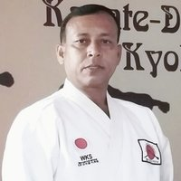 Learn Karate with renowned martial artist of India having 7th degree Black Belt from Japan, KAI & WKS