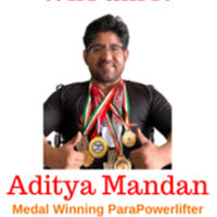 Medal Winning National Para Powerlifter and Certified Fitness Trainer and Nutrition Coach