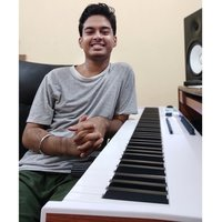 A musician and music producer giving classes for Musical Keyboard to school and college level students in kolkata