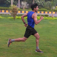 Running, strength and Core trainer from Delhi, professional Athlete and fitness trainer