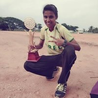 Student in engineering college, gain medal from athletics and kho-kho for the past 15yrs. Selected for nationals and have achievments in several tournaments.