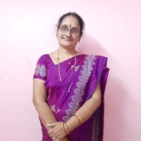Teacher in private English medium school. And also the tutor in youtube. @Ramya Deshpande